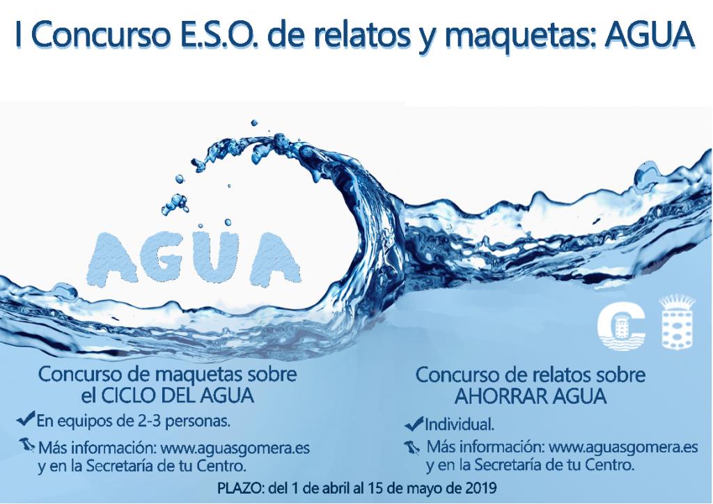 I Concurso E.S.O. de relatos y maquetas: AGUA